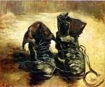 Van Gogh, Pair of Shoes,1886