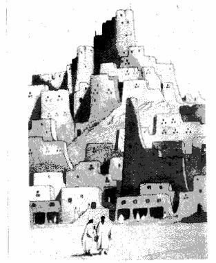 גברים בנאת המדבר סיווה, מתוך ספרו של גנרל וינגייט ברט, 1920